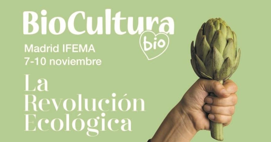 Nos vemos en BioCultura Madrid 2019